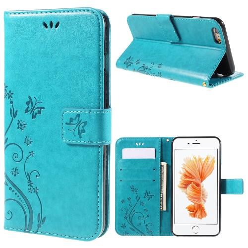 ef46f8b9669 IPhone 6 - sinine pu nahk / tpu rahakott / koos hoidjaga ümbris ...