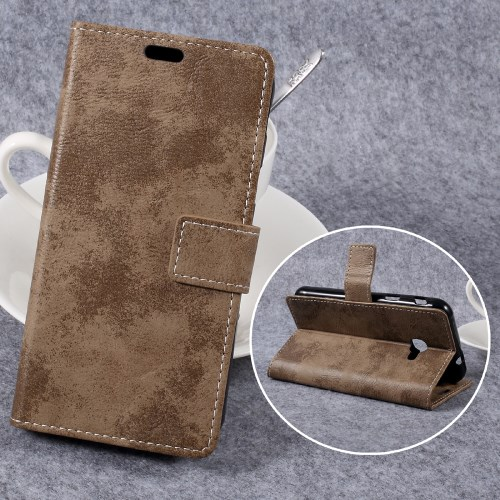 41178062bfa Galaxy Xcover 4 - khaki pu nahk / tpu rahakott / koos hoidjaga ümbris