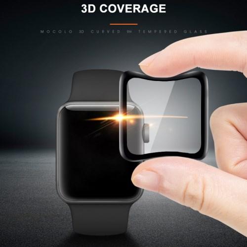 80f168a4421 Apple Watch Series 4 40mm - Mocolo must kaitseklaas kaitseklaas ...